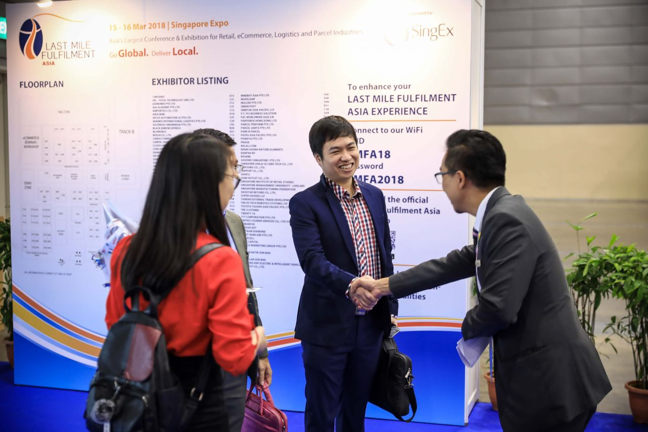 E-commerce networking activities at the LMFA On-Floor Exhibition Area
