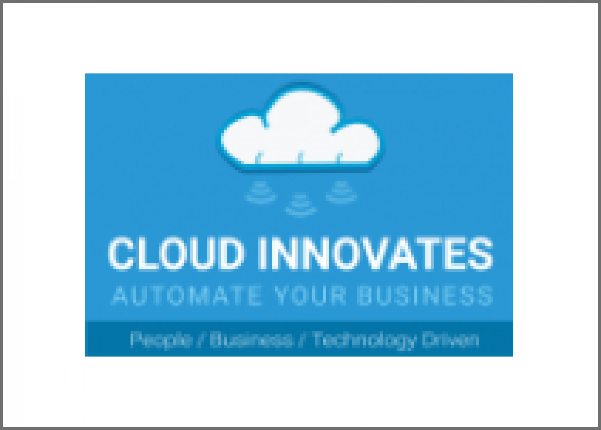 Cloud Innovates